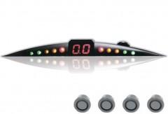 Парктроник ParkCity Ultra Slim NEW 418/110 LW с датчиками светло-серого цвета (4 датчика)