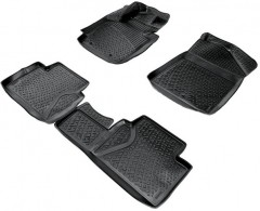 Полиуретановые коврики в салон для Kia Soul '14- (Lada Locker)