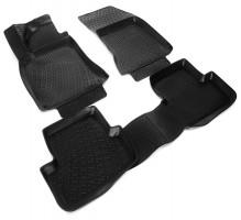 Полиуретановые коврики в салон для Mercedes A-Class W176 '12- (Lada Locker)