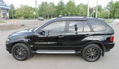 Дефлекторы окон для BMW X5 E53 '00-07 (Sim)