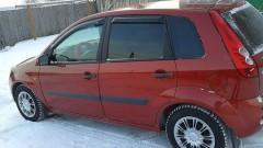 Дефлекторы окон для Ford Fiesta '02-09, хетчбек, 5дв. (Sim)