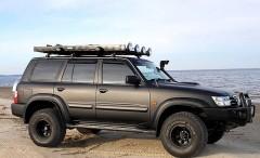 Дефлекторы окон для Nissan Patrol '97-09 (Sim)
