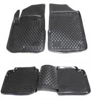 Коврики в салон для Nissan Teana '08- полиуретановые, черные (L.Locker)