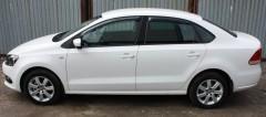 Дефлекторы окон для Volkswagen Polo '10- седан (Sim)