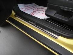Накладки на пороги для Audi A3 (8P) хэтчбек 3 дв. (Premium)