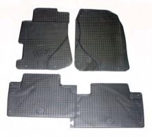 Коврики в салон для Honda Civic '01-05 резиновые, серые (Doma)