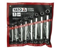 Набор ключей накидных изогнутых  YATO 8 шт. - 6-22 мм.