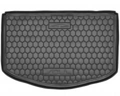 Коврик в багажник для Kia Soul '14-, (нижний), резиновый (AVTO-Gumm)