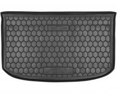 Коврик в багажник для Kia Soul '14-, (верхний), резиновый (AVTO-Gumm)