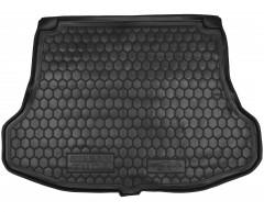 Коврик в багажник для Nissan Tiida '05-14 седан, резиновый (AVTO-Gumm)
