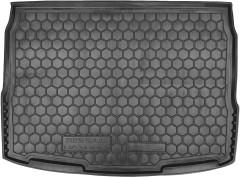 Коврик в багажник для Nissan Qashqai '14-17, резиновый (AVTO-Gumm)