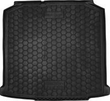 Коврик в багажник для Skoda Fabia II '07-14 универсал, резиновый (AVTO-Gumm)