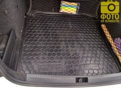 Фото 4 - Коврик в багажник для Skoda Octavia A7 '13- седан, резиновый (AVTO-Gumm)