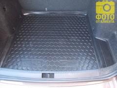 Фото 6 - Коврик в багажник для Skoda Octavia A7 '13- седан, резиновый (AVTO-Gumm)