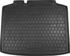 Коврик в багажник для Skoda Rapid Spaceback '13-, резиновый (AVTO-Gumm)