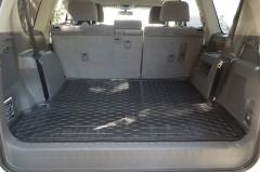 Фото товара 4 - Коврик в багажник для Toyota LC Prado 150 '10- (7 мест, длинный) резиновый (AVTO-Gumm)