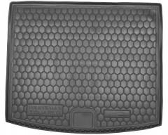 Коврик в багажник для Volkswagen Touareg '10-18 (2-х зонный климат), резиновый (AVTO-Gumm)