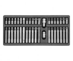 Набор специальных бит в металлическом боксе YATO 40 шт