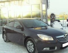 Дефлекторы окон для Opel Insignia '09-17, седан/хетчбек (Cobra)
