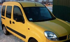 Фото 2 - Дефлекторы окон для Renault Kangoo '97-08, 2 шт (Cobra)