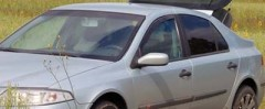 Дефлекторы окон для Renault Laguna '07-15 (Cobra)