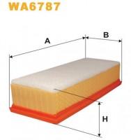 Воздушный фильтр Wix WA6787 (усиленный)