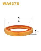 Воздушный фильтр Wix WA6378