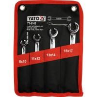 Набор ключей разрезных YATO 4 шт. - 8-17 мм