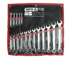 Набор ключей комбинированных YATO 17 шт. - 8-32 мм