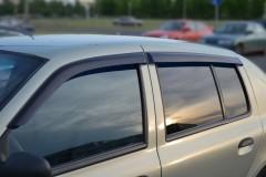 Дефлекторы окон для Renault Symbol '01-08 (Cobra)
