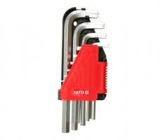 Шестигранники YATO  2,0-12 мм, 10 предметов