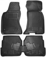 Коврики в салон для Audi A6 '97-05 резиновые, черные (AVTO-Gumm)