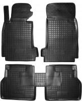 Коврики в салон для BMW 5 E39 '96-03 резиновые, черные (AVTO-Gumm)