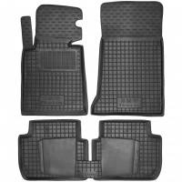 Коврики в салон для BMW 3 E46 '98-06 резиновые, черные (AVTO-Gumm)