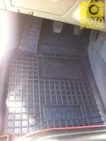 Фото 11 - Коврики в салон для Chevrolet Lacetti '03-12 резиновые, черные (AVTO-Gumm)