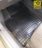 Фото 14 - Коврики в салон для Chevrolet Lacetti '03-12 резиновые, черные (AVTO-Gumm)