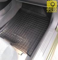 Фото 15 - Коврики в салон для Chevrolet Lacetti '03-12 резиновые, черные (AVTO-Gumm)