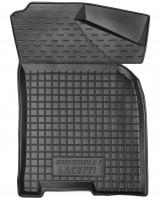 Фото 3 - Коврики в салон для Chevrolet Lacetti '03-12 резиновые, черные (AVTO-Gumm)
