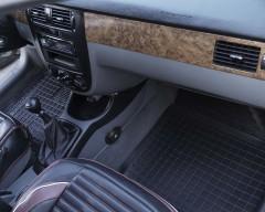 Фото товара 12 - Коврики в салон для Chevrolet Lacetti '03-12 резиновые, черные (AVTO-Gumm)