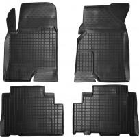 Коврики в салон для Chevrolet Captiva '06- резиновые, черные (AVTO-Gumm)