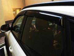 Дефлекторы окон для Audi Q5 '08-17 (Cobra)