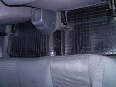 Фото 10 - Коврики в салон для Daewoo Lanos / Sens '05- резиновые, черные (AVTO-Gumm)