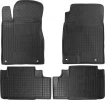Коврики в салон для Honda CR-V '12- резиновые, черные (AVTO-Gumm)