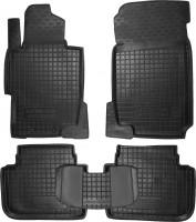 Коврики в салон для Honda Accord 7 '03-08 резиновые, черные (AVTO-Gumm)