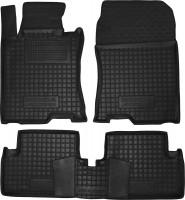 Коврики в салон для Honda Accord 8 '08-13 EUR резиновые, черные (AVTO-Gumm)