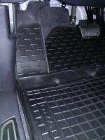 Коврики в салон для Hyundai Grandeur '12- резиновые, черные (AVTO-Gumm)
