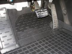 Коврики в салон для Hyundai i30 GD '13-16 резиновые, черные (AVTO-Gumm)