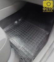 Фото 9 - Коврики в салон для Ford Focus II '04-11 резиновые, черные (AVTO-Gumm)