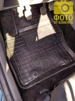 Фото 18 - Коврики в салон для Ford Focus II '04-11 резиновые, черные (AVTO-Gumm)