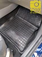 Фото 19 - Коврики в салон для Ford Focus II '04-11 резиновые, черные (AVTO-Gumm)